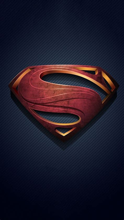 superman logo iphone  wallpaper pctechnotes pc tips