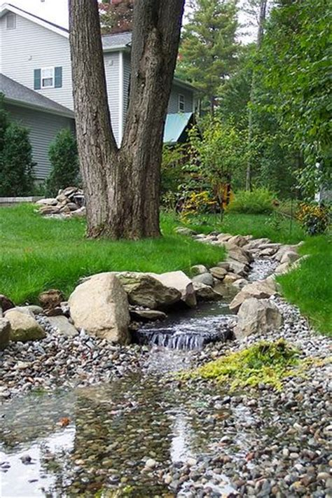 backyard stream ideas man made backyard stream idea 1 outdoor ideas pinterest