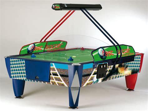 air hockey soccer table sam fast soccer air hockey table 8 5 ft