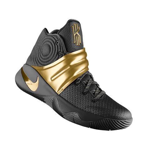 Terlaris Nike Kyrie Irving 2 Basketball Sepatu Olahraga Murahhh andre c gold coal colorway nike kyrie 2 custom nike id
