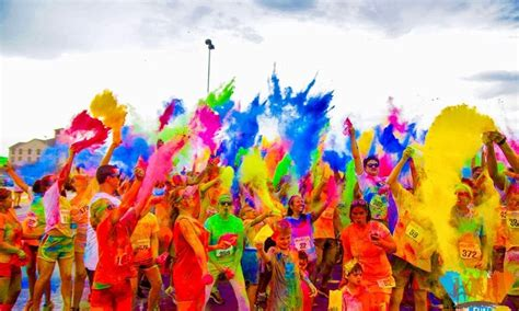 the filled colour run to soweto for the time