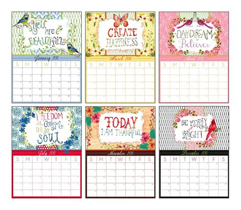 Calendar Layout Ink Designs Ink S New 2015 Watercolor Calendar