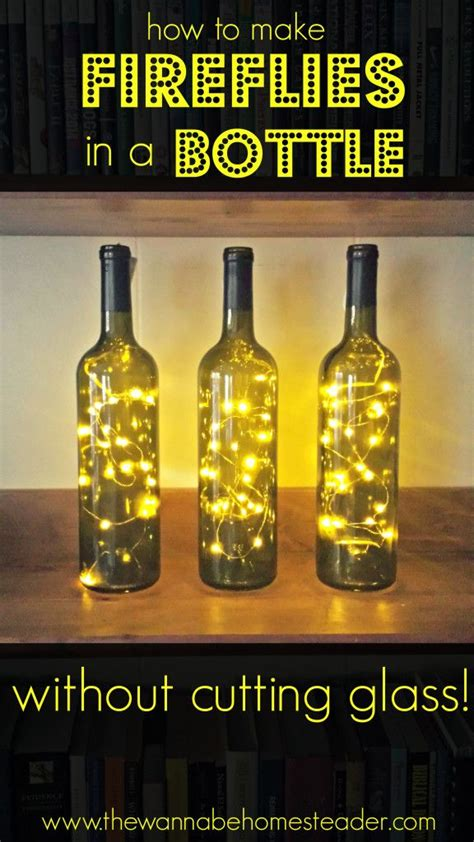 crafts with lights best 25 bottle lights ideas on bottle with