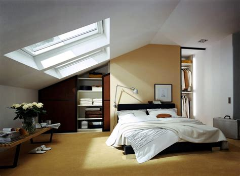Boys Bedroom Paint Ideas by Built In Wardrobe In The Bedroom With Sloping Roof