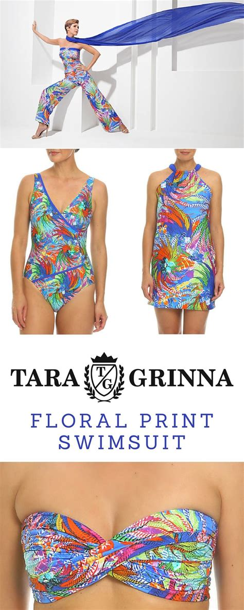 7 Swimsuits For 7 Types by Find Your Floral Swimsuit Style Tankini Top Or