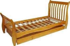 Wooden Bed Frame Ebay Harry Sleigh 3ft Single Wooden Bed Frame With Storage