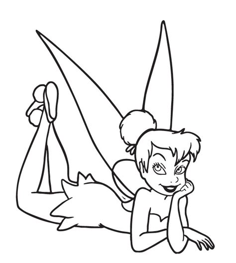 coloring pages tinkerbell tinkerbell coloring pages 05