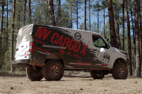 nissan nv 2500 cargo x concept look testdriven tv