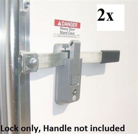 Adding Rv Style Door Latch To Enclosed Trailer - 2 ka self locking cargo trailer cambar door latch vise