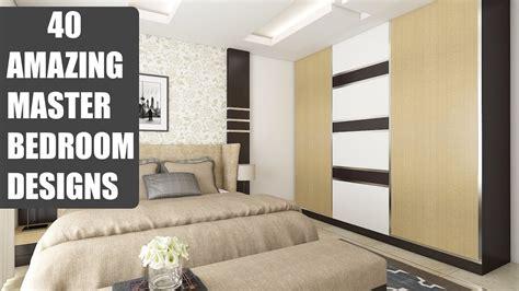 amazing bedroom designs 40 amazing master bedroom designs interiors bonito