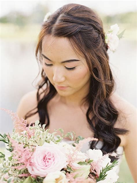 Wedding Hairstyles Hair Part Up Part by Wedding Hair Middle Part Wedding Hair Middle Part Wedding