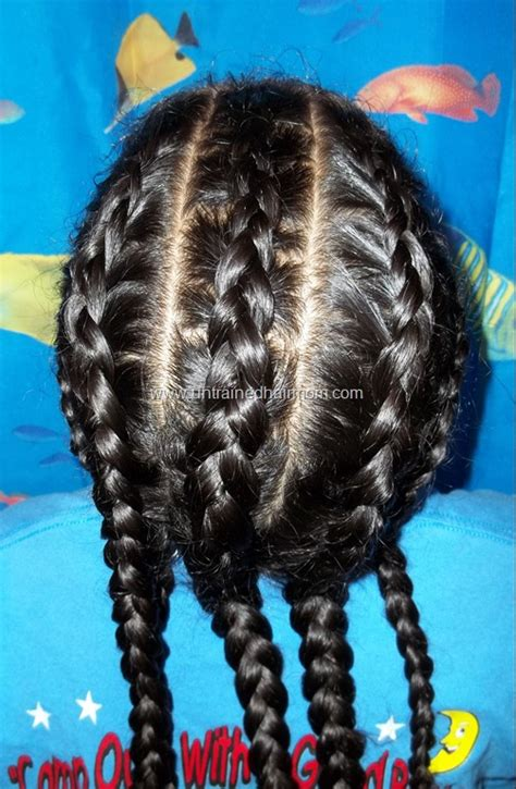 Hairstyle Book For Beginners by Cornrows For Untrained Hair Models Picture