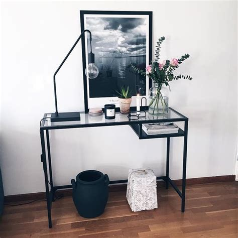 best 25 ikea glass desk ideas on glass desk