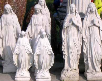 statue in gesso da giardino giardino statue immacolata lourdes bm139 statue bm139