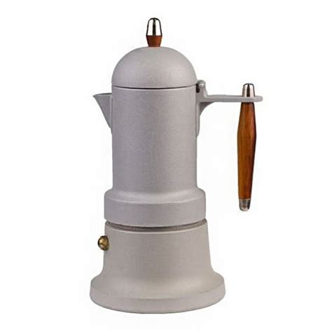 moka coffee maker g a t quot minni plus grey quot 3 cups the coffee mate