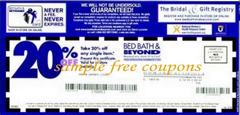 Bed Bath And Beyond Expired Coupons by You Must Sign Up Expiration Is On February 28 2014