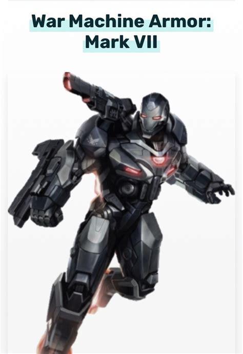 war machine iron patriot armor avengers