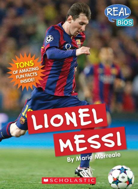 leo messi biography book lionel messi by marie morreale paperback barnes noble 174