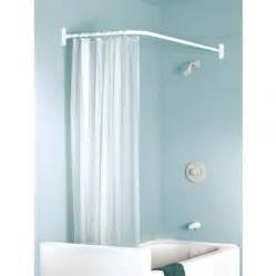 white curtain in modern bathroom design with blue wall