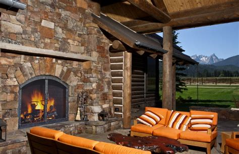 Outdoor Fireplace Screens Large by Fireplace Screens Custom Designed And Forged For Your Home