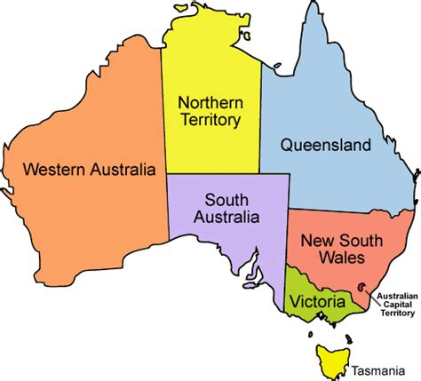 map of australia with territories new flags for australia s states portland flag association