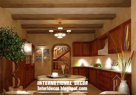 kitchen ceiling design rustic kitchen ceiling false design for classic kitchens