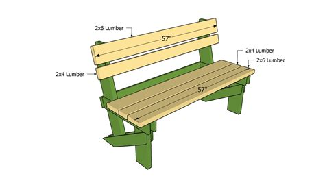 woodwork simple garden bench plans  plans