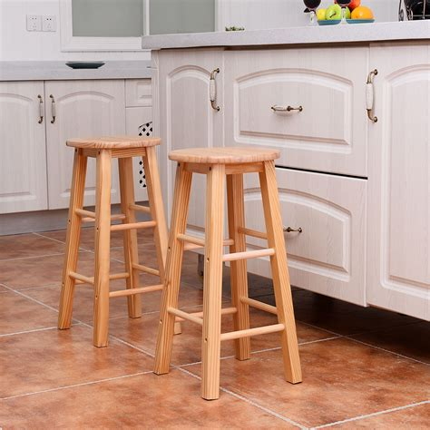 open kitchen bar counter and two bar stool design set of 2 wood counter stools bar stools dining kitchen