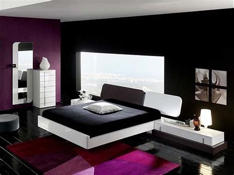 Ultra Modern Black White Bedroom Interiors Newhouseofart Interior Design Of Bedroom Furniture