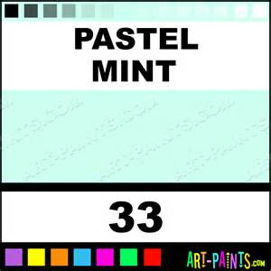 pastel mint art supplies encaustic wax beeswax paints 33