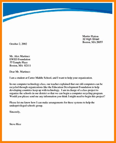 Letter Writing how to write a formal letter how to format cover letter