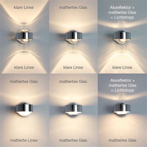 led len dimmbar top light puk led wall light 2 0811 led reuter shop