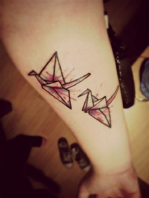 origami tattoo 65 origami bird tattoos nenuno creative