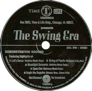 time life records the swing era unknown artist the swing era flexi disc at discogs
