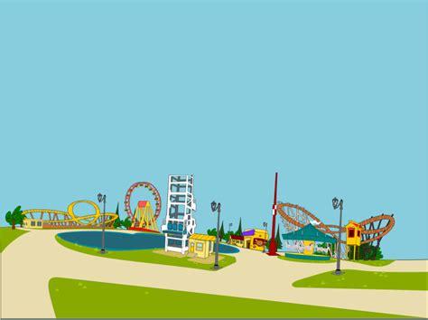 theme park clipart clipart amusement park