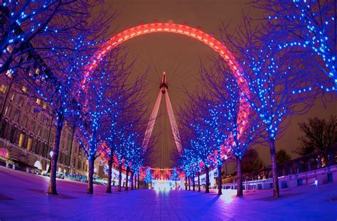 christmas photos full of life are catched in the london