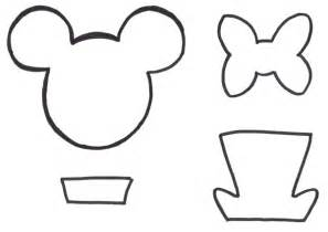 mouse template free printables mouse ears