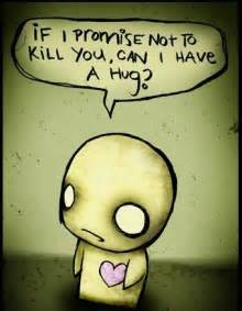Emo cartoon hug flickr photo sharing