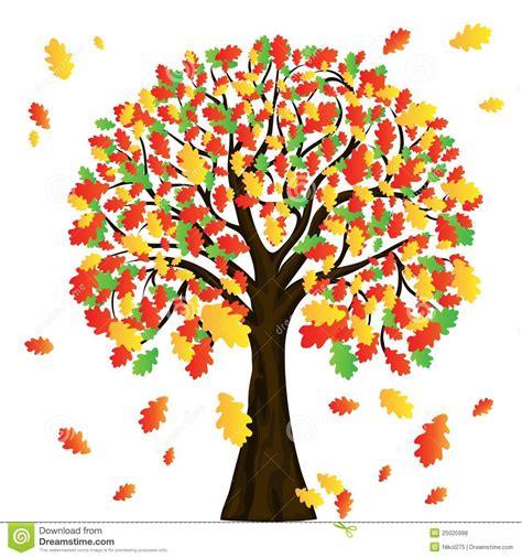 clipart albero albero di autunno per il vostro disegno illustrazione