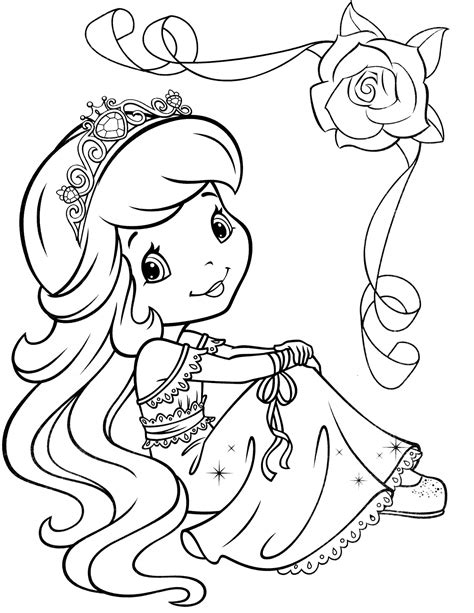 strawberry shortcake 49 coloringcolor com