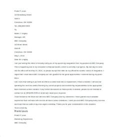 Resignation Letter Due To Family Relocation 49 Resignation Letter Exles