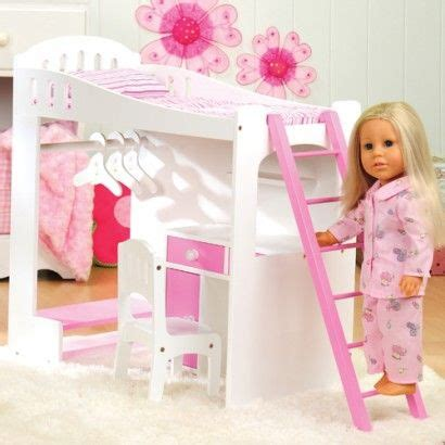 18 inch doll beds loft bed for 18 inch doll doll pinterest