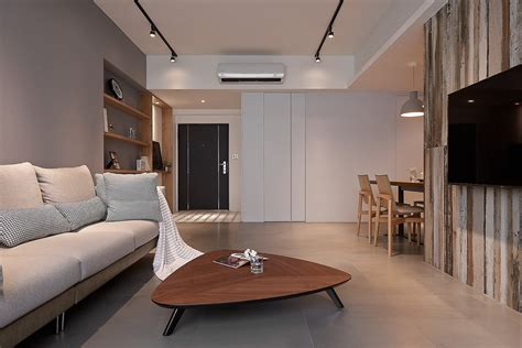 this apartment is a project designed by home space