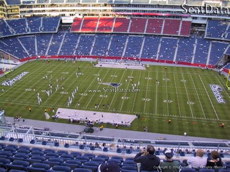 Gillette Stadium Box Office by Gillette Stadium Section 330 New Patriots
