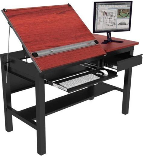Drafting Table Surface Drafting Tables Steel Frame And Black Frames On Pinterest