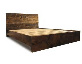Bed Wood Frame Parts Wooden Platform Bed Frame And Headboard Modern By