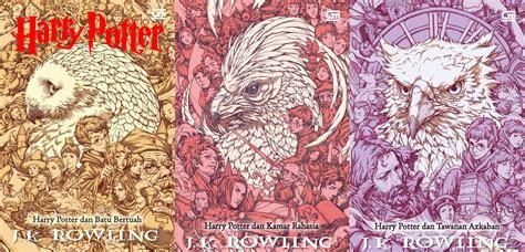 Harry Potter Dan Batu Bertuah Cetak Ulang Cover Baru By Jk Ro desain ilustrator indonesia pada sul buku harry potter news from indonesia
