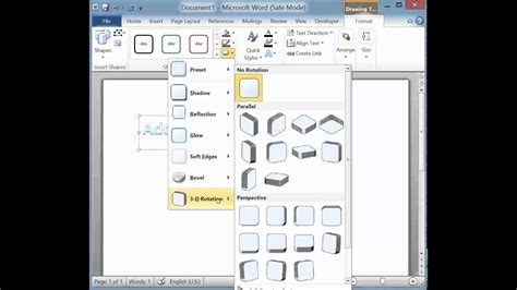 rotate or flip a text box shape wordart or picture office support