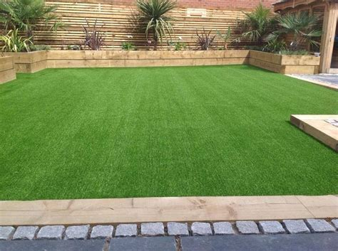 backyard turf artificial grass and planters from lawn land ltd new