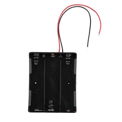 Terlaris 3x 18650 Battery Holder Baterai Batere Box Kotak Batre 18650 battery storage box plastic holder for 3 x 18650 batteries soldering cnnecting